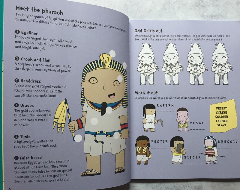 Ancient Egypt Adventure Activity Book