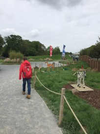 Lego trail at Whipsnade Zoo
