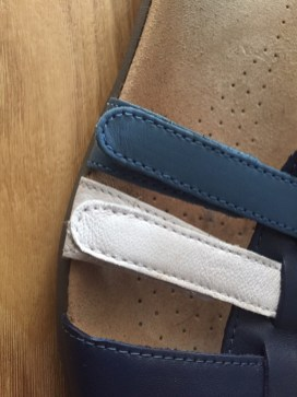 Sol sandal straps