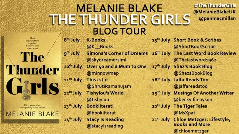 The Thunder Girls blog tour