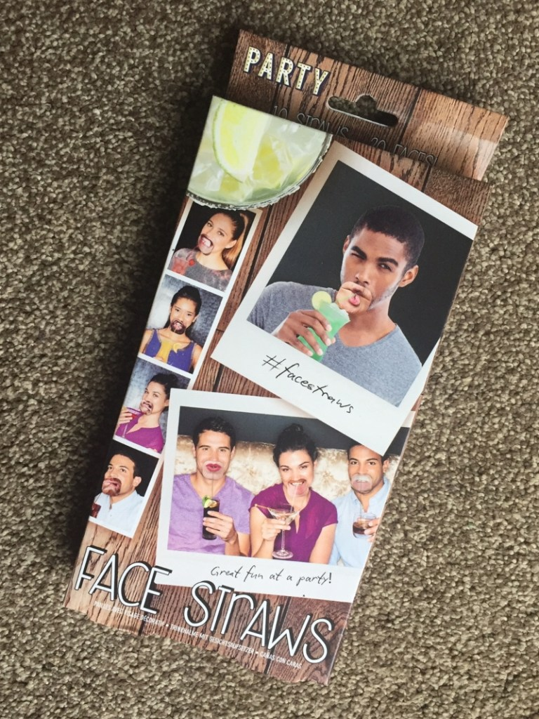 Face Straws giveaway