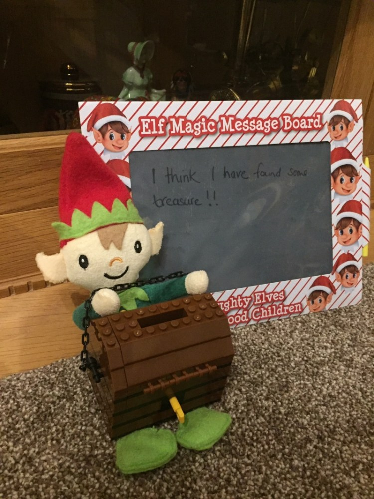 Berry the Elf in 2019 - days 8-14