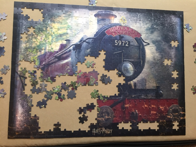 Harry Potter Hogwarts Express 3D jigsaw puzzle