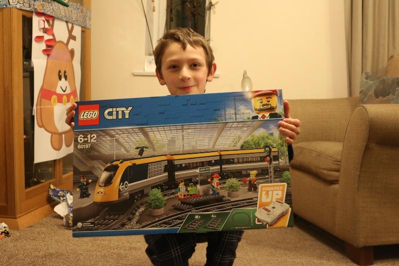 Lego High Speed Train Set