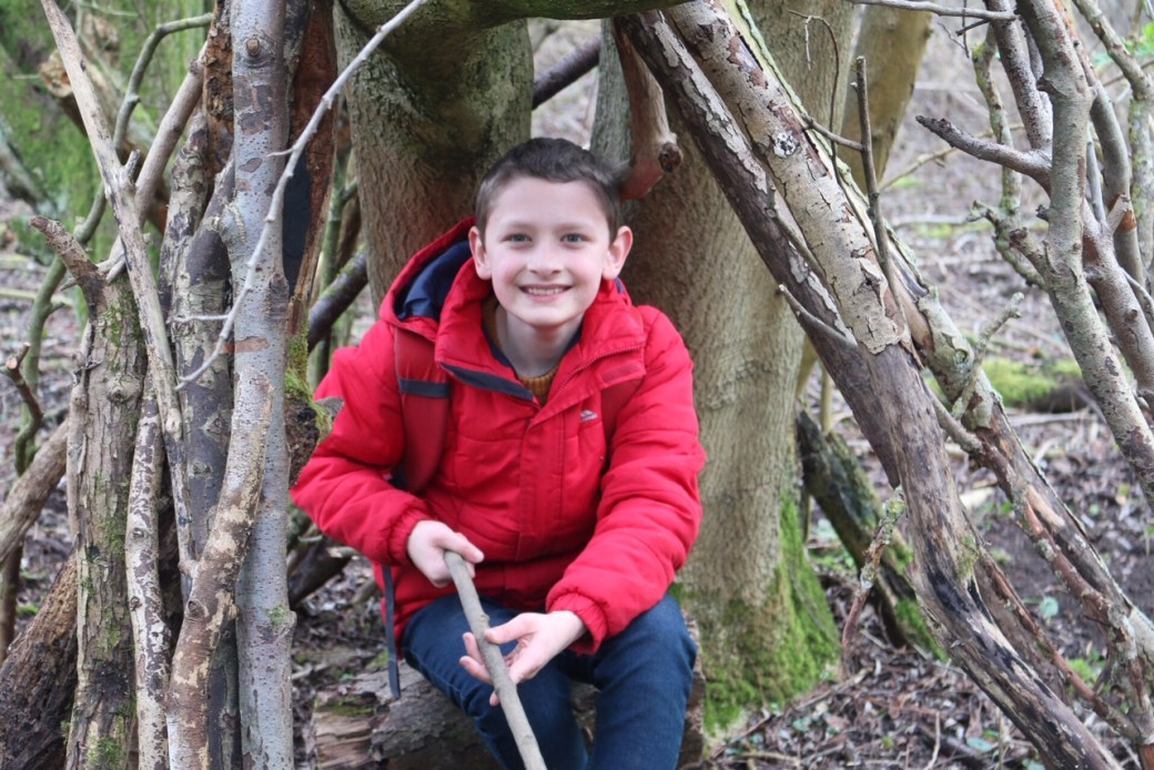 Den building at Anglesey Abbey