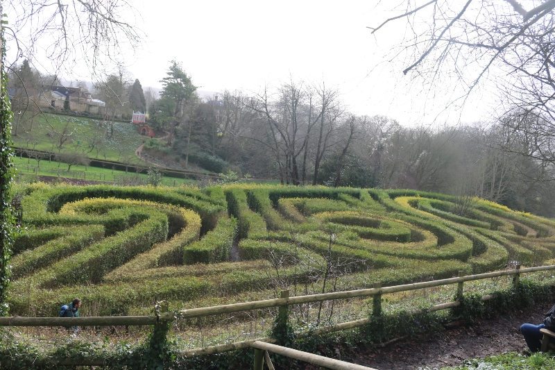 Painswick Maze
