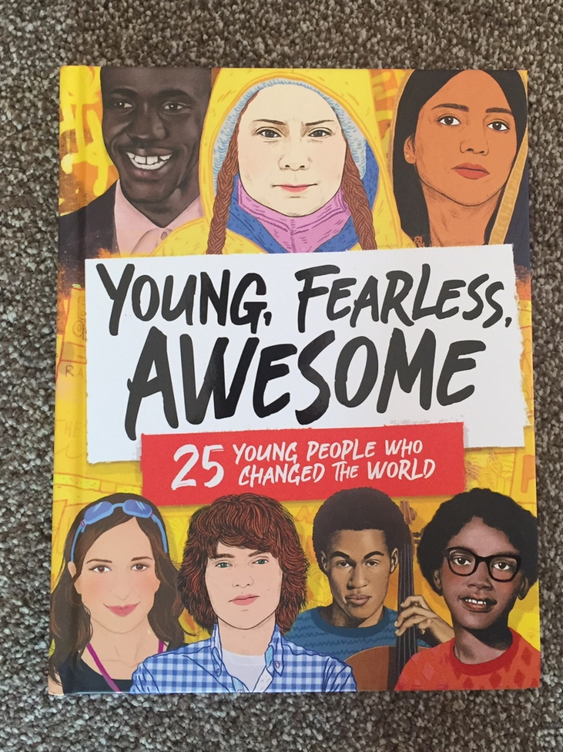 Young, Fearless, Awesome book