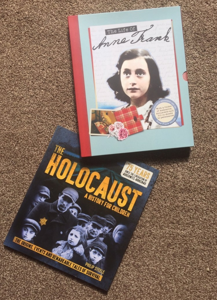 The Life of Anne Frank and The Holocaust A History for Children