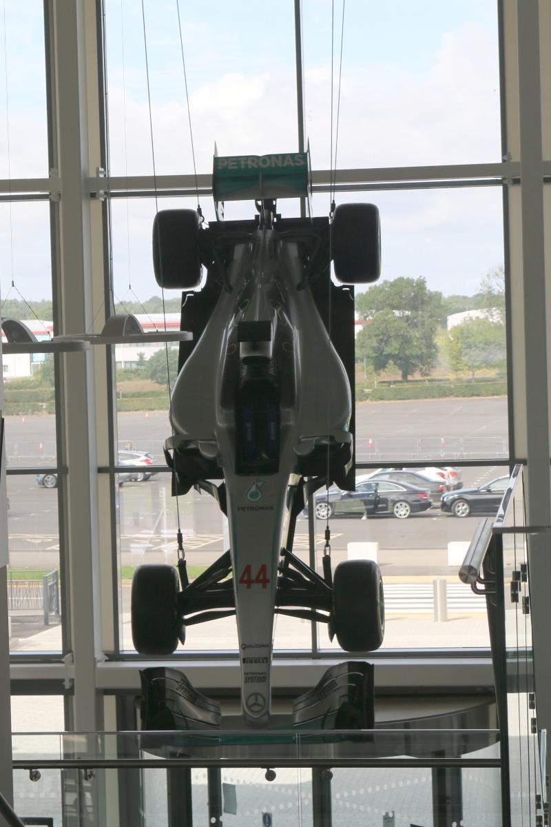 Hamilton Mercedes F1 car