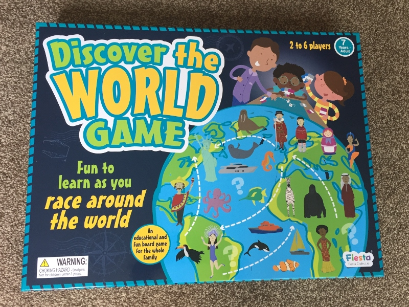 Discover the World game