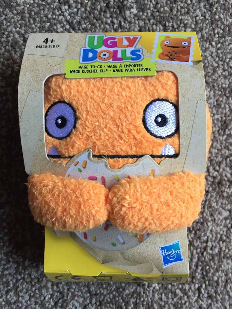Ugly Dolls Wage To-Go Plush toy