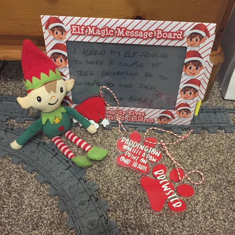Elf Antics with Berry the Elf 2020 Day 15