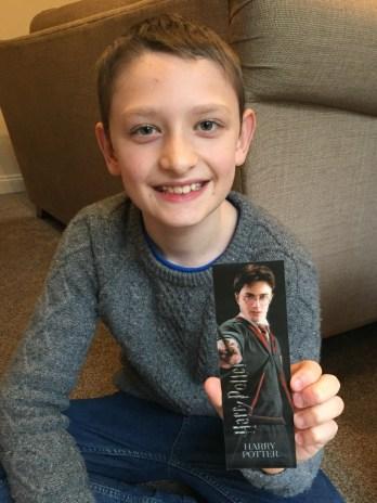 Harry Potter 3D bookmark