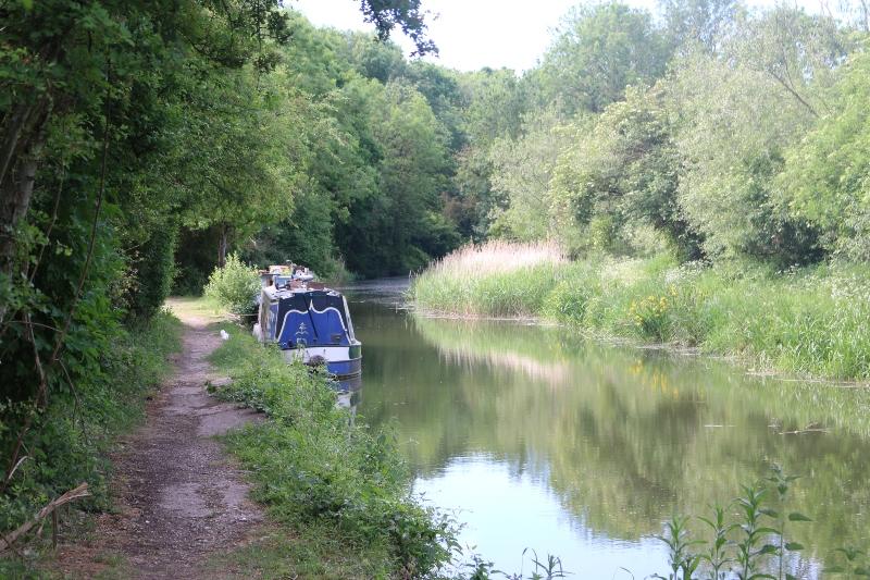 Oxford canal at Kirtlington