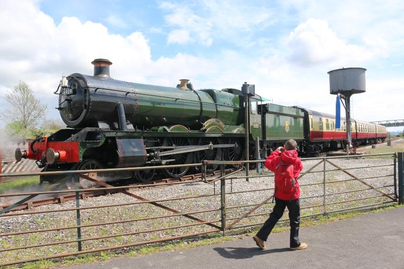 Wightwick Hall Locomotive