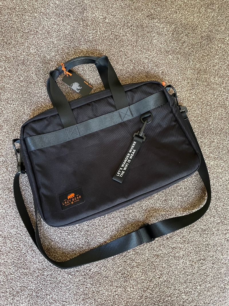 Getting organised with the Lancy Black Laptop bag from Trendhim