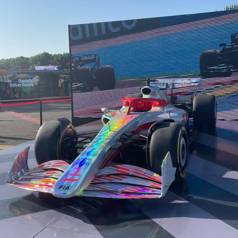 2022 Formula One car