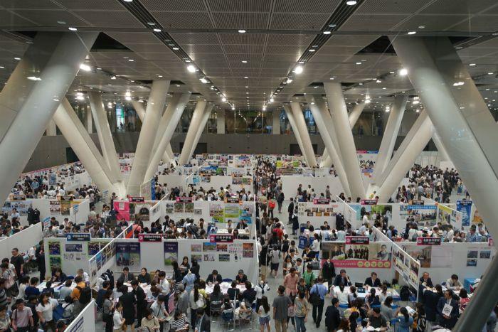 東京私立中学合同相談会2017 ホールE全景