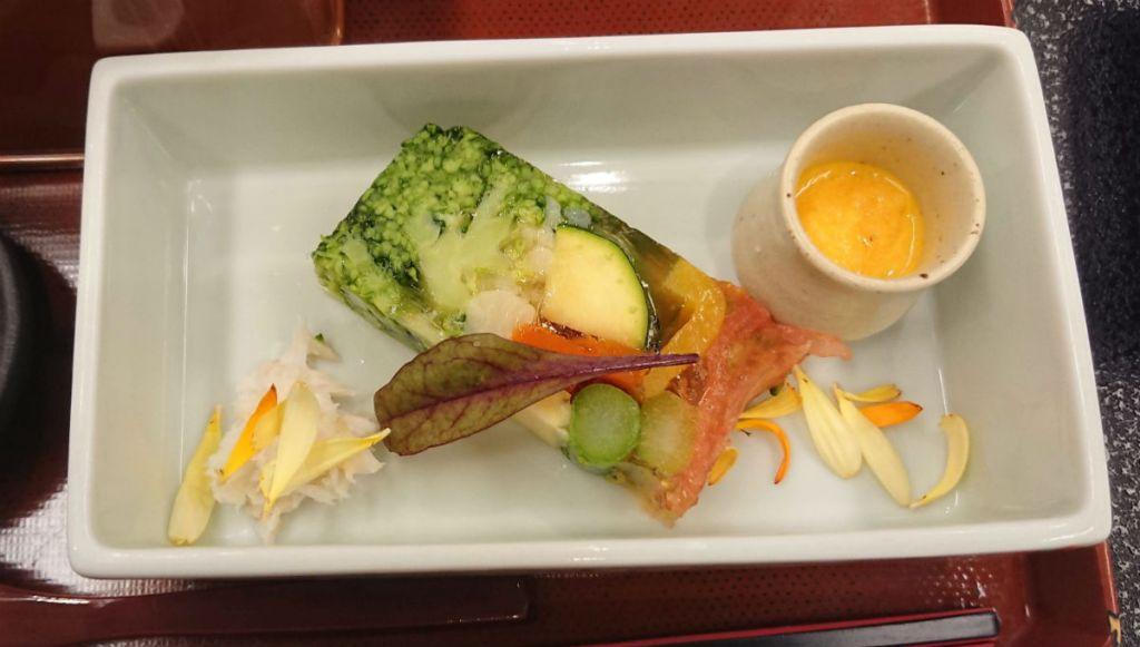 小樽 宏楽園 5月夕食 野菜テリーヌ