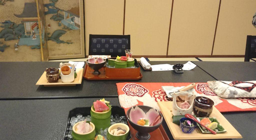 小樽 宏楽園 夕食の個室