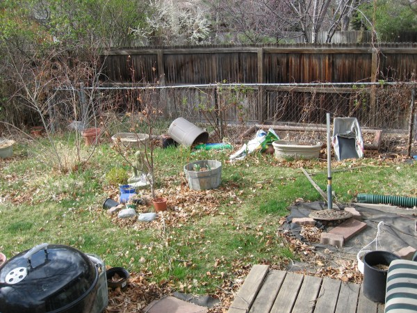 gardening overabundance of
