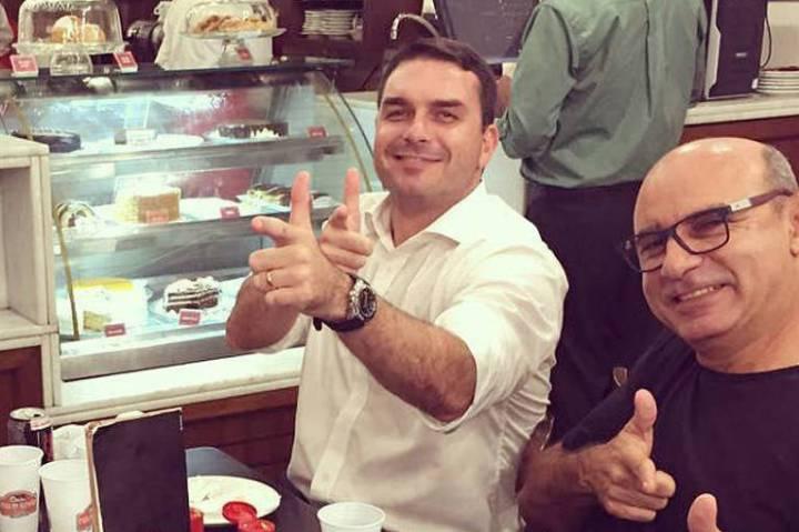 Flávio Bolsonaro e Queiroz