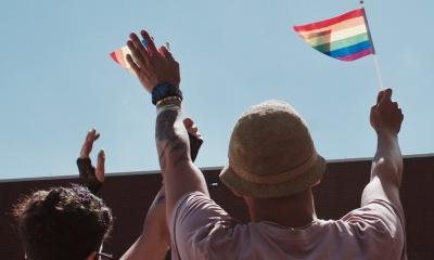 Gays celebram a homossexualidade