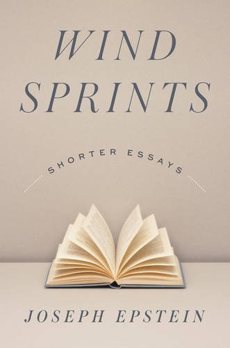 Wind Sprints: Shorter Essays
