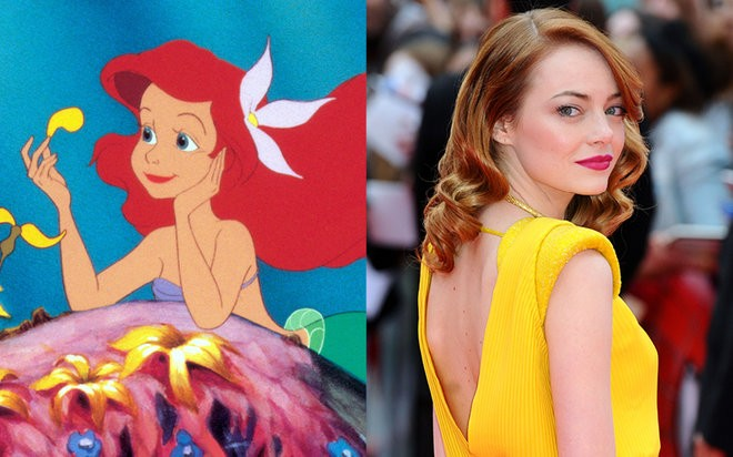 disney-heroines-7-ariel-little-mermaid-emma-stone