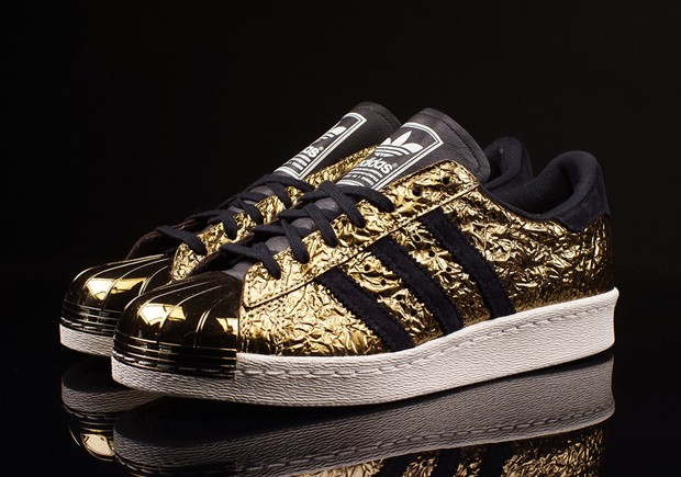 adidas Superstar 80s Metal Toe Gold Foil
