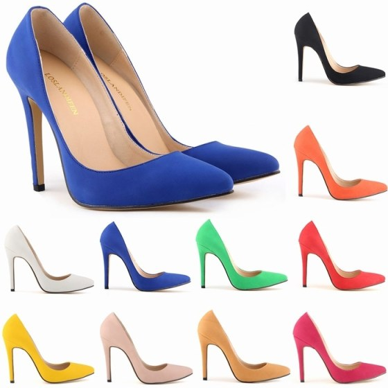 Blue-faux-suede-11cm-high-heels-wedding-party-spring-summer-women-shoes-work-court-font-b