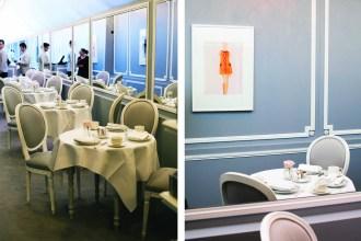 Dior Cafe at Harrods