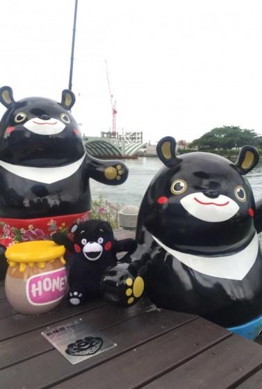 8月19日中午12點整「酷MA萌 友情集氣路跑」正式開放報名,10月16日熊本熊與高雄熊邀你一起跑路跑、遊高雄、做公益