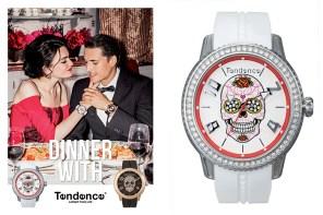明星都愛的瑞士腕錶 Tendence 骷髏錶酷炫登台!進駐臺北 101 潮流地標