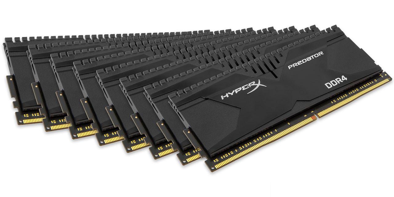 Kingston HyperX Achieves Fastest 128GB DDR4 Memory Kit | OC3D News