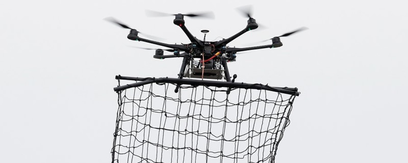 OC3D :: News :: How do Tokyo Police Catch Drones? With a
