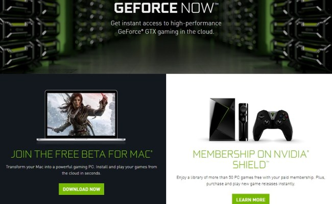 Nvidia Geforce Now Has A Free Mac Beta In Europe Oc3d Forums