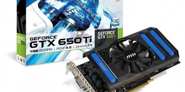 Para el lanzamiento de la GeForce GTX 650 Ti el fabricante MSI no faltará a la cita y entre los modelos que tiene planeado lanzar se encuentra una versión OC […]