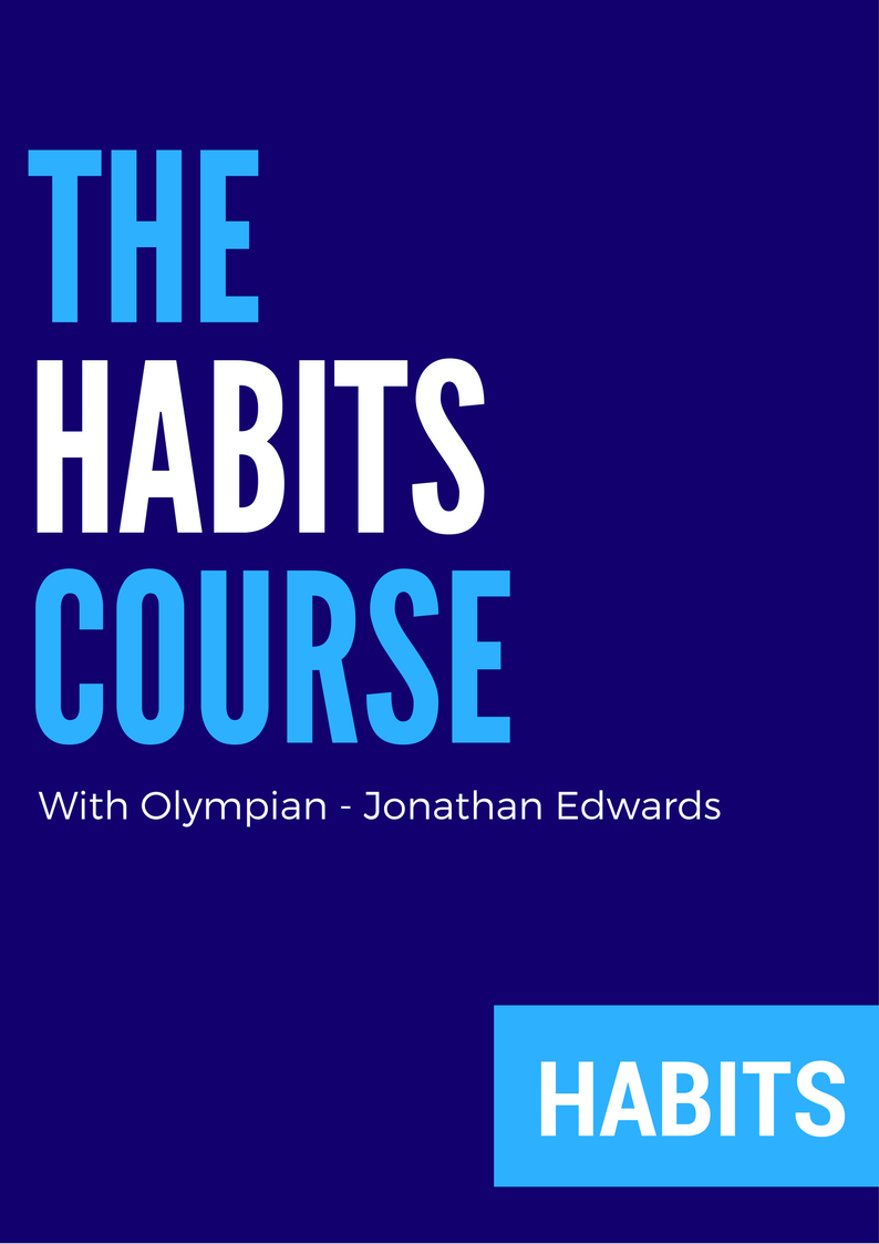 The Habits Course with Olympian - Jonathan Edwards