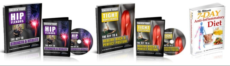 Unlock Your Hip Flexors Bonuses