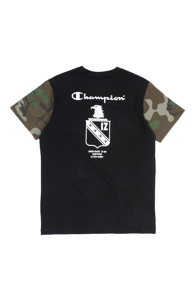 ARMYXCHAM BADGE TEE BKX $399 (back)