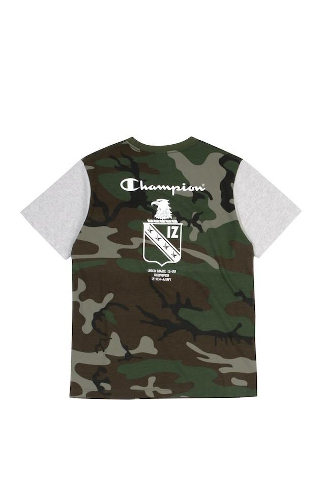 ARMYXCHAM BADGE TEE CAM $399 (back)