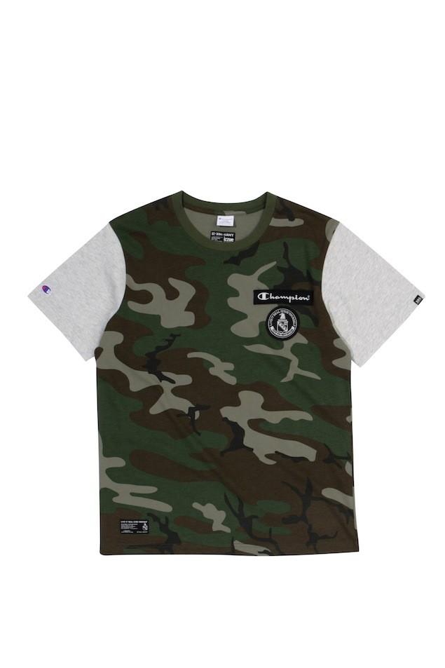 ARMYXCHAM BADGE TEE CAM $399