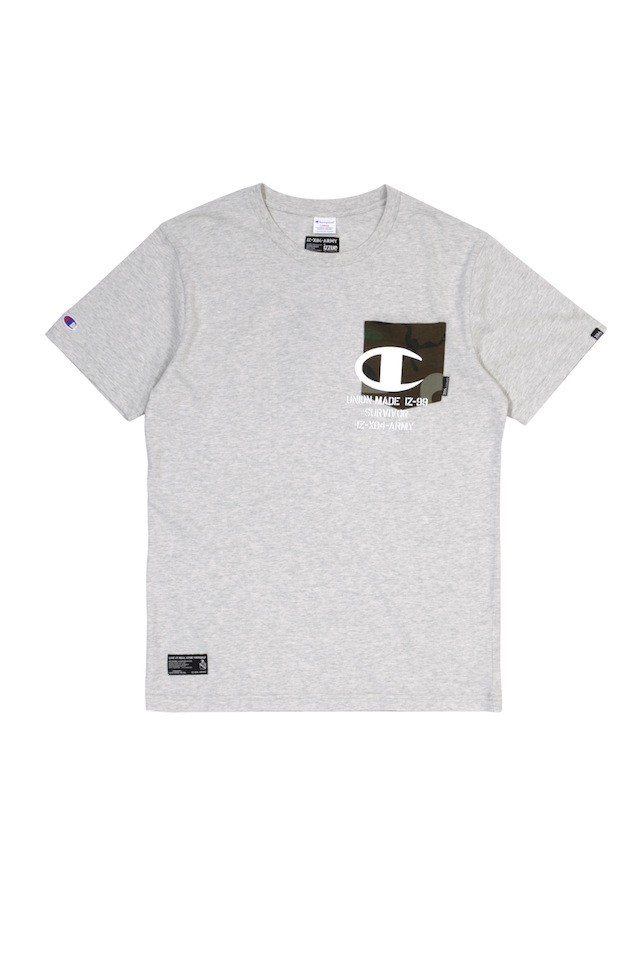 ARMYXCHAM PKT TEE HGY $359