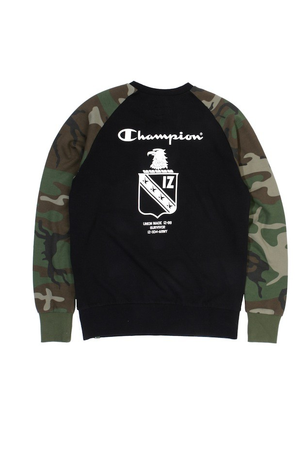 ARMYXCHAM PULLOVER BKX $699 (back)