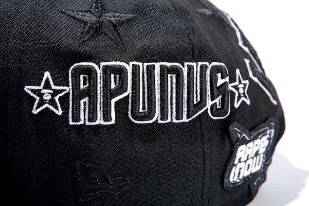 Aape x New Era Embroidered Patch Baseball Cap_HK$599_1 (3)