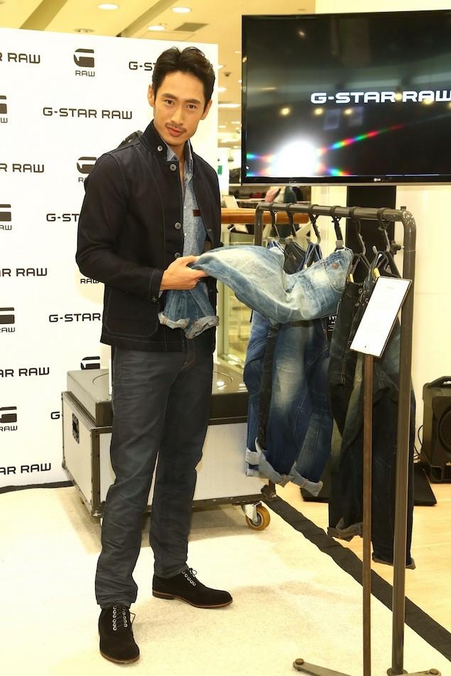 G-STAR RAW 3D褲款公關巡迴展 台灣站記者會 活動嘉賓-路斯明3