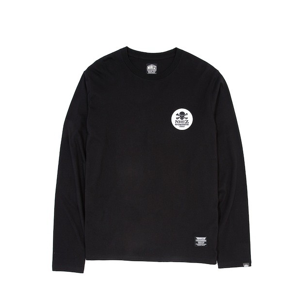 NHIZ BASIC BADGE LONG TEE bkx $379
