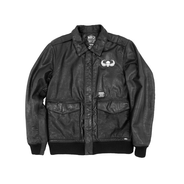 NHIZ LEATHER BOMBER $8,999 (front)