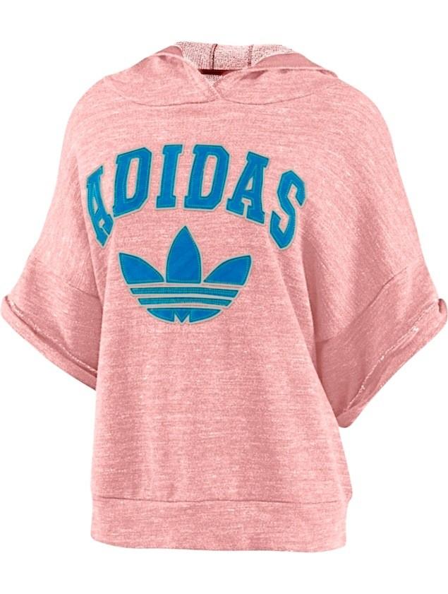 adidas Originals 11月份Basketball系列女生連帽寬版上衣,售價NT$2,890
